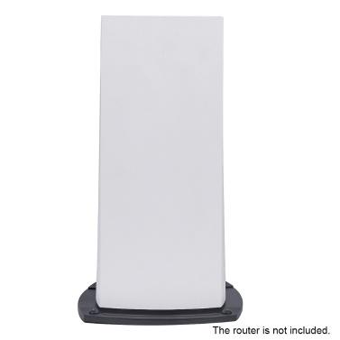 Wandhalterung aus Metall Wandhalterung Aufhänger mit Halterung Kompatibel mit Linksys MX5300 WiFi 6 Mesh Router 1-Pack