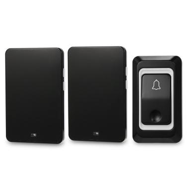 Wireless AC Türklingel mit Druckknopf Smart Ding Dong Türklingel