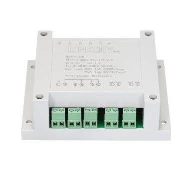 SONOFF 4CH AC85-250V RF 433MHz 4-fach WiFI-Schalter
