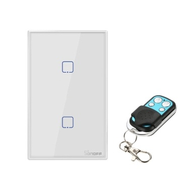 SONOFF T2US1C-TX 1 Gang Smart WiFi Wandlichtschalter