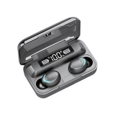 Headphones Battery Display Earphone BT Earphones