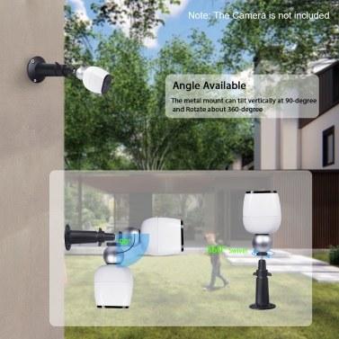 2PCS Magnetkugel-Wandhalterung für Arlo HD, Arlo Pro, Arlo Pro 2 Arlo Go Überwachungskamera, Schwarz