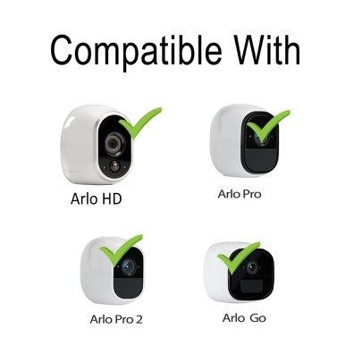 Wall Ceiling Mount Magnetic Mounting Bracket Compatible with Arlo HD/Arlo Pro/Arlo Pro2/Arlo Go Camera