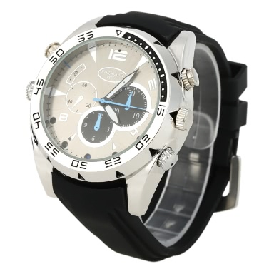 1080P Hidden Spy Camera Wrist Waterproof Watch,limited offer $16.99