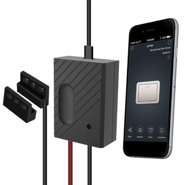 WiFi Smart Switch Garagentor Controller Kompatibel Garagentoröffner Smartphone Fernbedienung Timing Funktion Sprachsteuerung