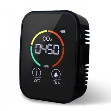 Многофункциональный 3in1 CO2 метр цифровой измеритель температуры и влажности монитор качества воздуха детектор углекислого газа
