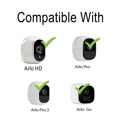 Magnetische Wandhalterung für Wanddecken Kompatibel mit Arlo HD / Arlo Pro / Arlo Pro2 / Arlo Go-Kamera