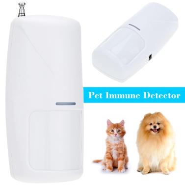 433 MHz Wireless 10KG Pet Immune Motion PIR Detector