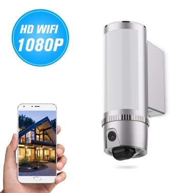 54% OFF FREECAM L910 Wall-Light HD 1080P WiFi Camera,limited offer $123.59
