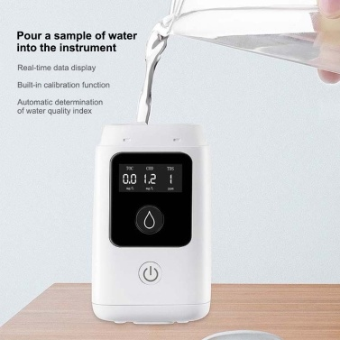 3 In 1 Digital LCD High Accuracy TOC COD TDS Water Quality Tester