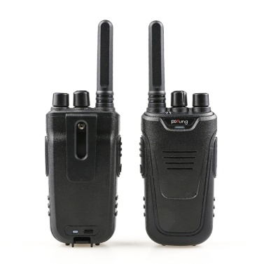 BaoFeng T11 2PCS Mini Walkie Talkie 446.00625- 446.09375 MHz 16CH Portable Handheld Transceiver Interphone VOX Function Battery Save LED Flashlight Two Way Radio