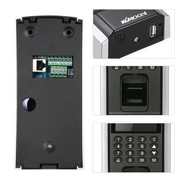 Biometric Fingerprint Access Control System TCP/IP USB U-drive Attendance Machine Electric RFID Card Reader Sensor