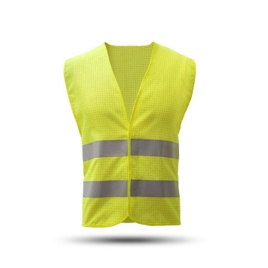 High Visibility Reflective Safety Vest Reflective Polyester Knitted Vest Workwear Security Working Clothes Petrol Station Day Night Warning Safety Waistcoat