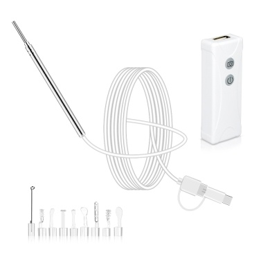 Mini WIFI Endoscope Camera with Ear Pick Set
