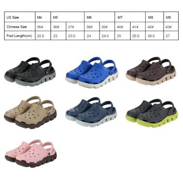 Summer Cool Beach Unisex Holes Shoes Antiskid Causal Women Sandals Hollow Walking Slipper Breathable Girls Backstrap