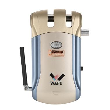 WAFU Wireless Remote Control Elektronische Lock Invisible Keyless Entry Türschloss mit 4 Fernbedienungen