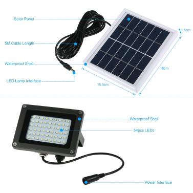 Solar LED Outdoor Light Garden Light