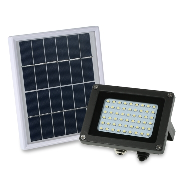 $3.6 OFF Solar Powered Floodlight 54 LED Solar Lights,free shipping $26.39(code:SFT1766)