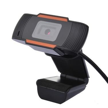 Webcam com microfone Chamada de vídeo USB