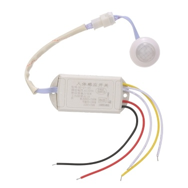 AC 220V Human Motion Body PIR Infrared Motion Sensor Switch