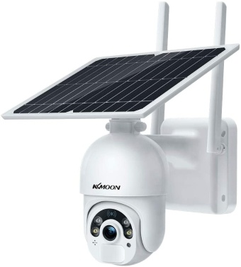 Solar Security Camera 1080P HD Outdoor Wireless WiFi PTZ Surveillance Camera