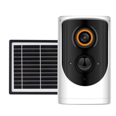 Solarbetriebene Überwachungskamera für den Außenbereich