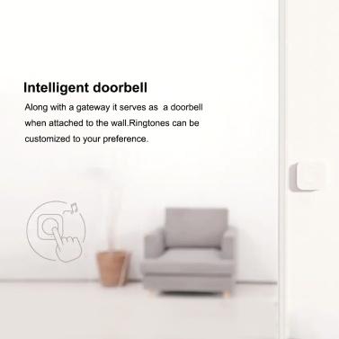 Aqara WXKG12LM Intelligent Switch APP Remote Control/Doorbell Built-in High-precision Acceleration Sensor