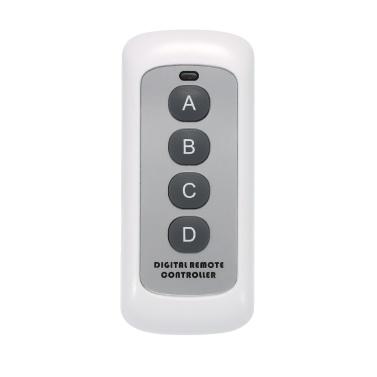 SONOFF 433MHz 4 Botão EV1527 Chave de Código Interruptor de Controle Remoto