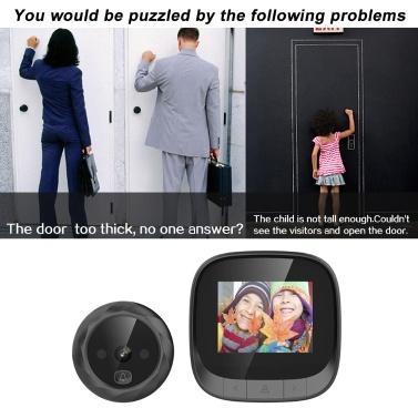 """2,4 """"TFT Digital Peephole Door Viewer"""