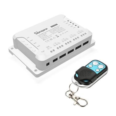 SONOFF 4CH R3/PRO R3 ITEAD RF 433MHz 4 Gang WiFI Switch