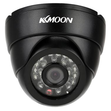 "KKmoon® 2.8mm 960H 1/3"" Sony CCD Effio4140+673 with 24pcs IR LED Security CCTV Camera"