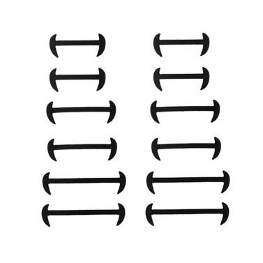 12Pcs Lazy Casual elastische Silikon Sichel Schuhspitze