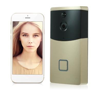 HD 720P WIFI Visual Intercom Door Phone Wireless Video Doorbell