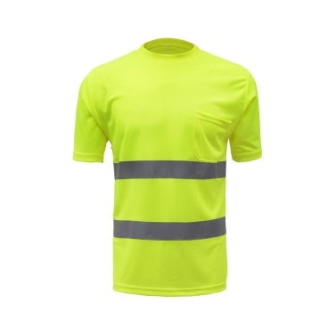 SFVest High Visibility Reflective Safety Work Shirt Reflective Vest Breathable Work Clothes Security Reflective T-shirt Working Clothes Safety Polo Shirt
