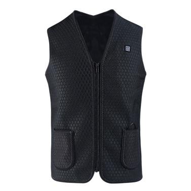 Heating Vest Heated Vest Smart USB Charging 3 Speed Adjustable Temperature Electric Warmer Thermal Waistcoat