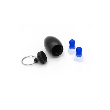 1 Pair Noise Cancelling Ear Plugs Waterproof Soft Silicone Earplugs