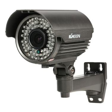 """KKmoon 1080P AHD Gewehrkugel CCTV-Analogkamera 2.8 ~ 12mm Manuell Zoom Varifokusobjektiv 1/3 """"für Sony CMOS 2.0MP IR-CUT 72 IR LED Nachtsicht Wetter Indoor Outdoor Sicherheit PAL-System"""