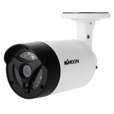KKmoon 1080P 2.0MP AHD Bullet CCTV-Kamera 3.6mm 1/3 '' CMOS 18pcs Array IR LEDs Nachtsicht IR-CUT Regensicher Indoor Outdoor Home Security NTSC System