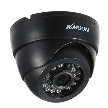 KKmoon  1080P AHD Dome CCTV Analog Camera 3.6mm Lens 1/2.8'' CMOS 2.0MP IR-CUT 24pcs IR LEDS Night Vision for Home Security PAL System
