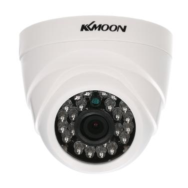 KKmoon 1080P AHD Dome CCTV Analog Kamera 3.6mm Objektiv 1 / 2.8 '' CMOS 2.0MP IR-CUT 24pcs IR LED Nachtsicht für Home Security NTSC System