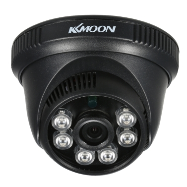 KKmoon 1080P AHD Dome CCTV-Kamera 2.0MP 1 / 2.8 '' CMOS 6pcs Array IR LED Nachtsicht IR-CUT Indoor Home Security PAL System