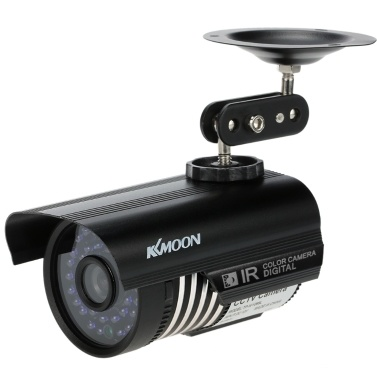 KKmoon® 1200TVL Câmera de vigilância externa para segurança com CCTV analógica