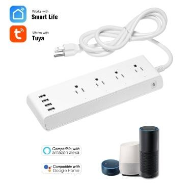 52% off Smart WIFI Power Strip with 4 AC