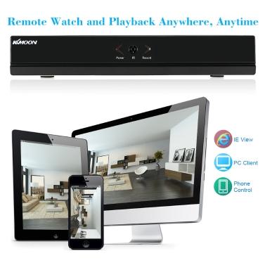 KKmoon 4CH Channel CCTV 1080P Video Recorder