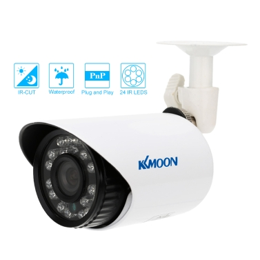 KKmoon 700TVL Bullet CCTV Security Camera Waterproof IR-CUT Day/Night Vision Home Surveillance NTSC System