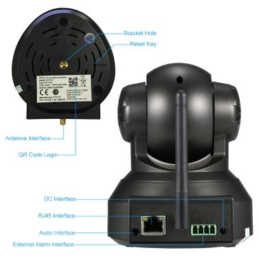 OWSOO Wireless WiFi IP Cloud Camera