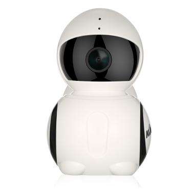 KKmoon 720P Mini Panoramic WIFI Robot IP Camera,free shipping $25.99(code:SVRMC4)