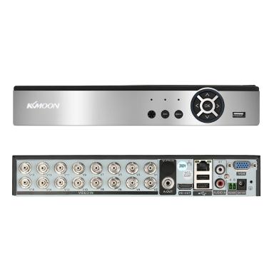 KKmoon 16CH 1080 P H.264 P2P Netzwerk DVR CCTV Sicherheitstelefon Steuerung Bewegungserkennung für Überwachungskamera