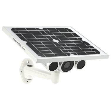 47% OFF Wireless HD 1080P WiFi Solar & Battery Power Bullet IP Camera,limited offer $142.79