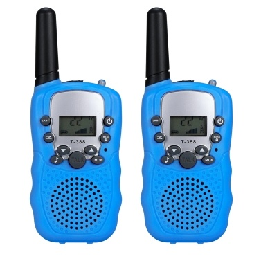 Adult Kids Walkie Talkies 2 Way Radio Flashlight Long Range 0.5W 22 Channel Outdoor Activities Camping Hiking Biking Trip(One Pair)